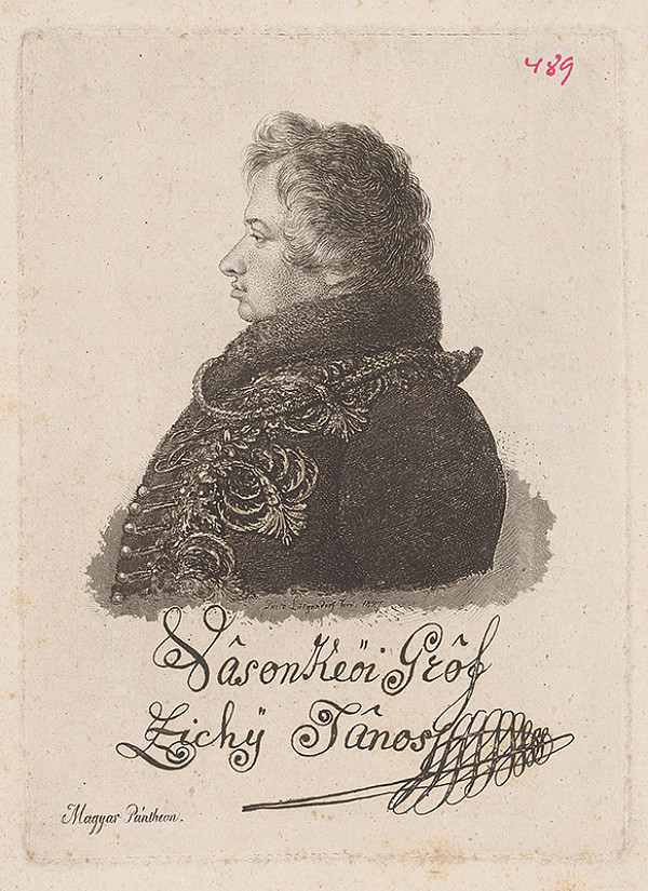 Ferdinand Karl Theodor Lütgendorff - Portrét grófa Zichyho