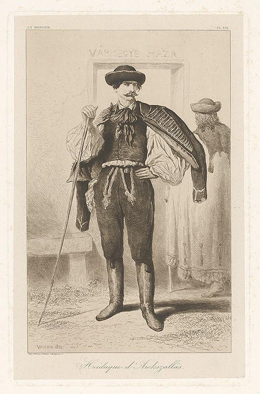 Théodore Valério – Maďarský hajdúch