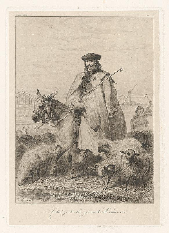 Théodore Valério – Maďarský pastier