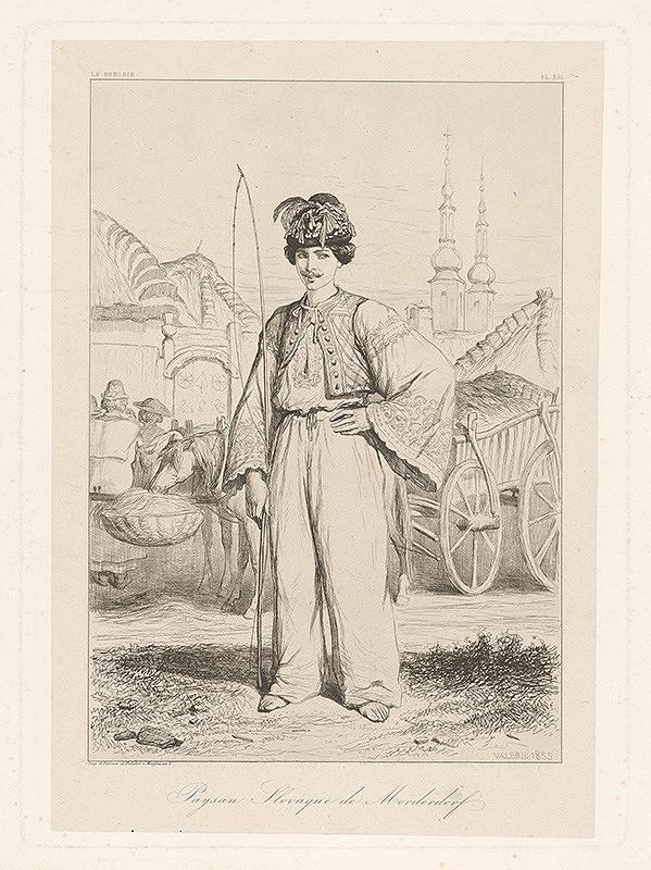 Théodore Valério – Slovenský sedliak z Modranky