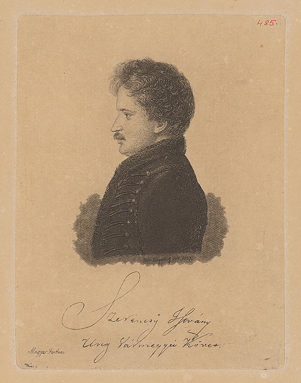 Ferdinand Karl Theodor Lütgendorff - Portrét Istvána Szerencsyho