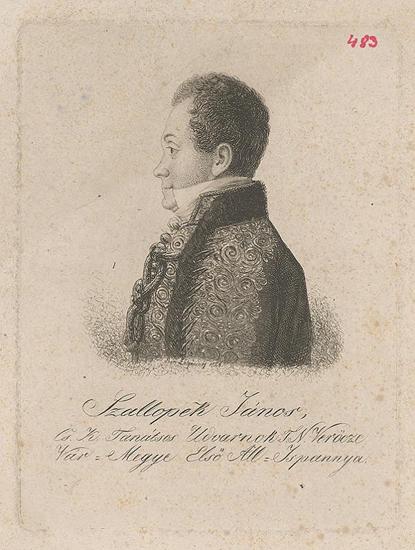 Ferdinand Karl Theodor Lütgendorff - Portrét Jána Szallopeka
