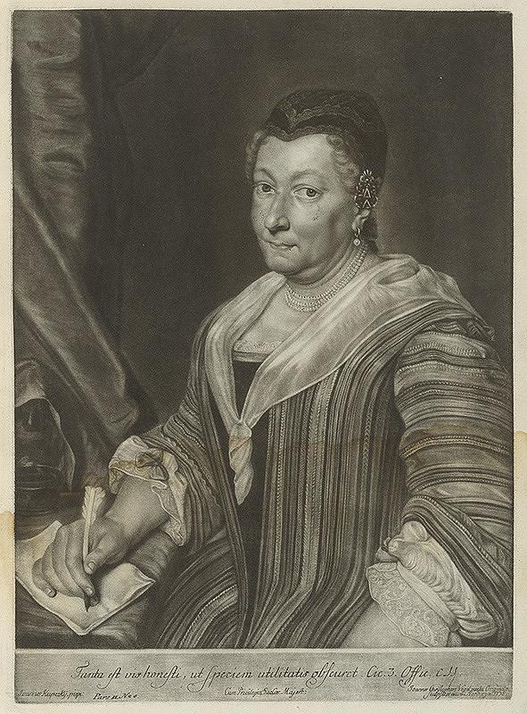 Ján Kupecký, Johann Christoph Vogel – Portrét Katariny Maximiliany Kiehnlein