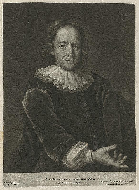Ján Kupecký, Bernhard Vogel – Portrét neznámeho muža - Anonymus
