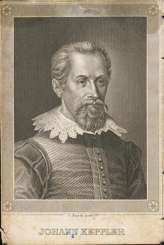 Carl Barth – Portrét Keplera