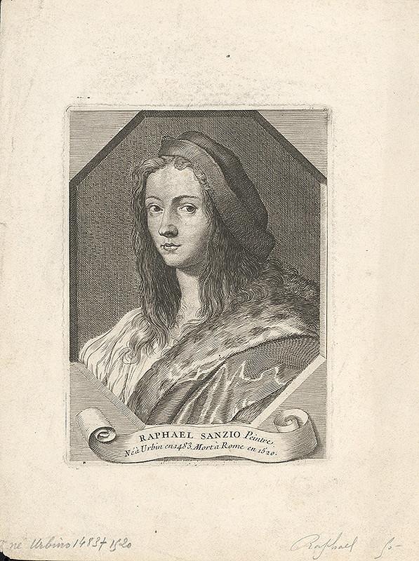 Stredoeurópsky grafik z konca 17. a začiatku 18. storočia - Raphael Sanzio