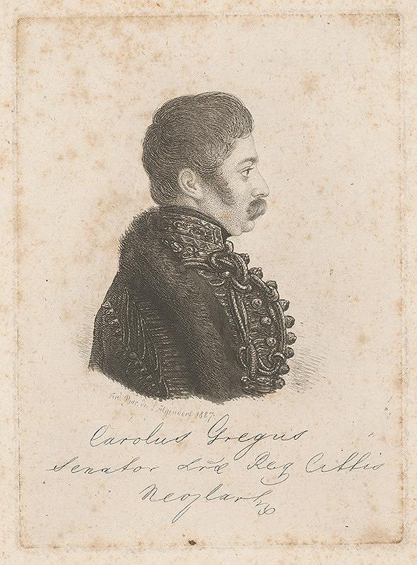 Ferdinand Karl Theodor Lütgendorff – Portrét Carolusa Gregusa