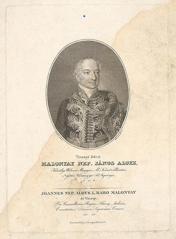 Johann Nepomuk Ender, Adám Sándor Ehrenreich - Barón Nep. Ján Alojz Malonyay