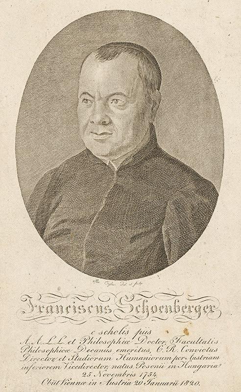 Joseph Eisner – Portrét Františka Schoenbergera