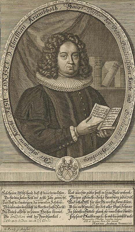 Johann Georg Pentz - Portrét Krümbholza