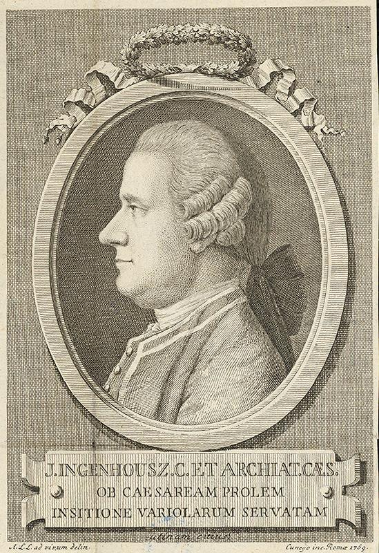Domenico Cunego – Portrét J.Ingenhousza