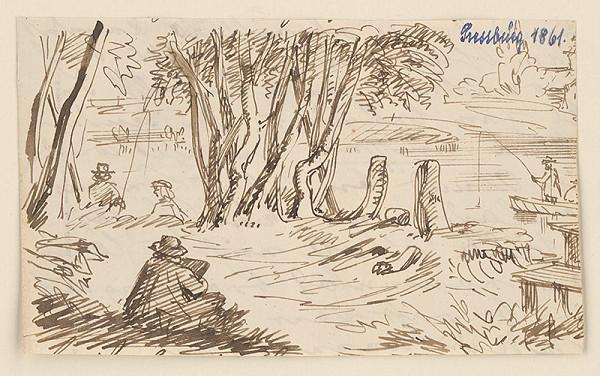 Stredoeurópsky kresliar z 2. polovice 19. storočia – Pri vode