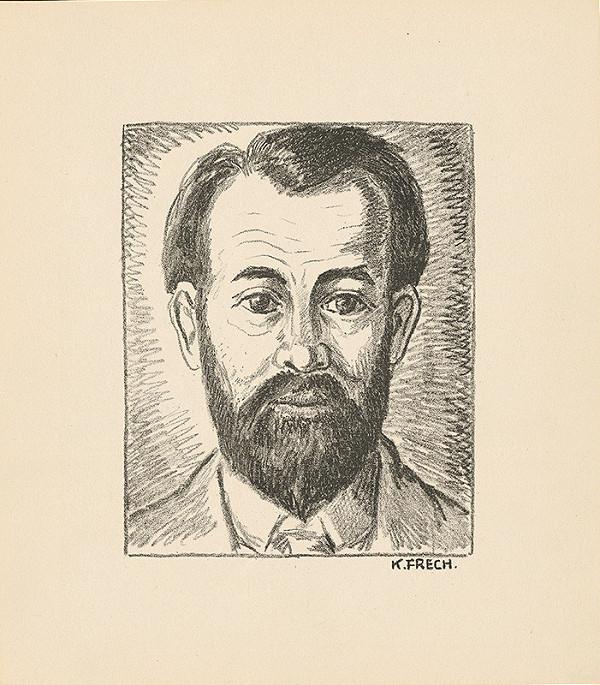 Karol Frech – Autoportrét