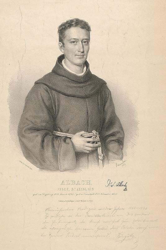 Miklós Barabás – Portrét Jozefa Stanislava Albacha