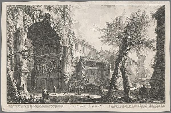 Giovanni Battista Piranesi - Titov oblúk