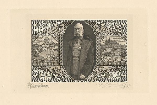 Koloman Moser, Ferdinand Schirnböck - Portrét cisára Františka Jozefa