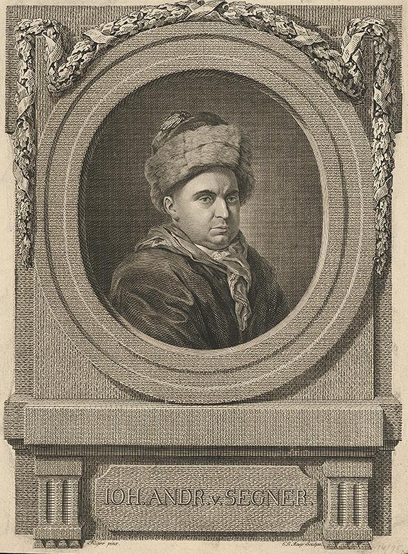 C.G. Rasp, Friedrich Heinrich Füger - Portrét Jána Andreasa Segnera
