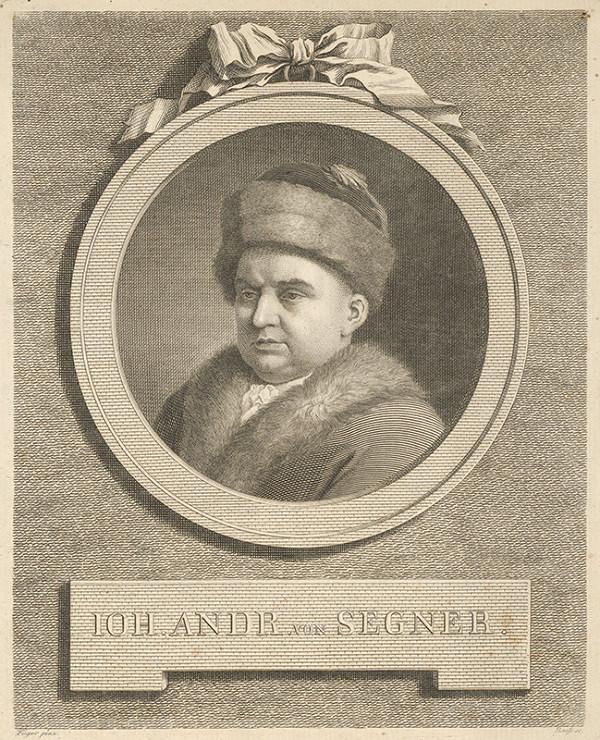 Johann Friedrich Bause, Friedrich Heinrich Füger - Portrét Jána Andreasa Segnera