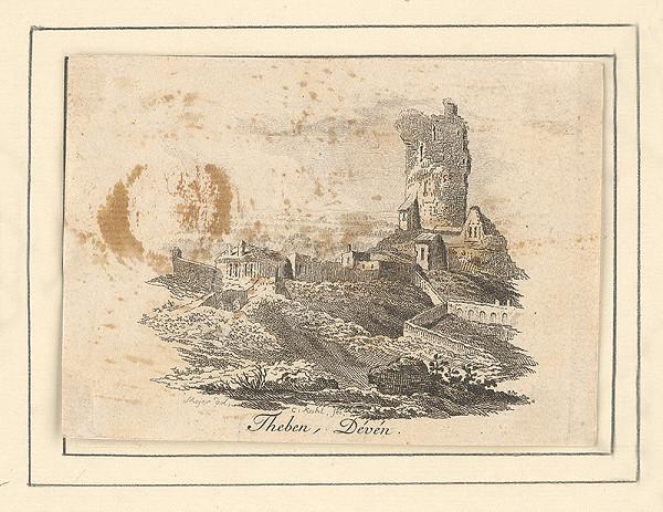 Clemens Kohl, Elias Meyer – Pohľad na hrad Devín