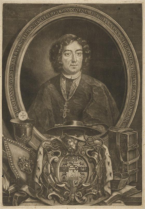 Christoph Weigel st. – Portrét Kristiána Augusta Saského
