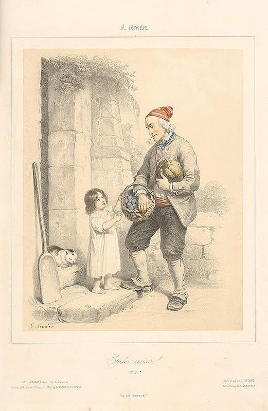 Francois Grenier - Starec a dievčatko