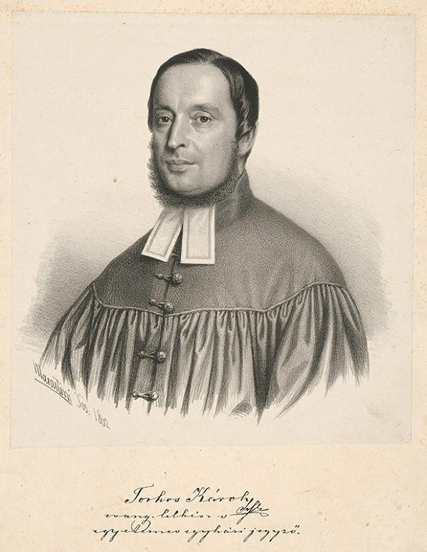 Giuseppe Marastoni - Portrét Karola Torkoša