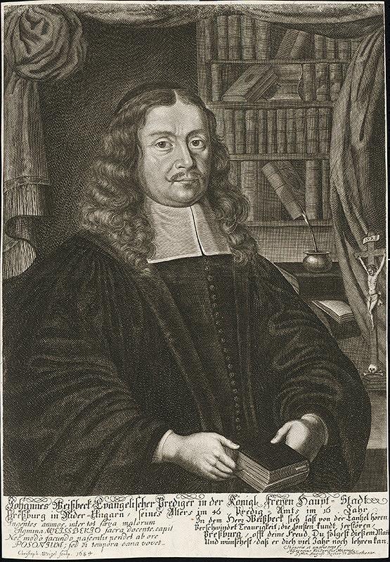 Christoph Weigel st. – Portrét J.Weisberka