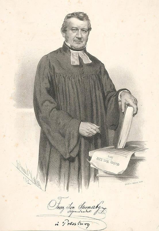 Eduard Kaiser – Portrét F.Samuela Stromszkého