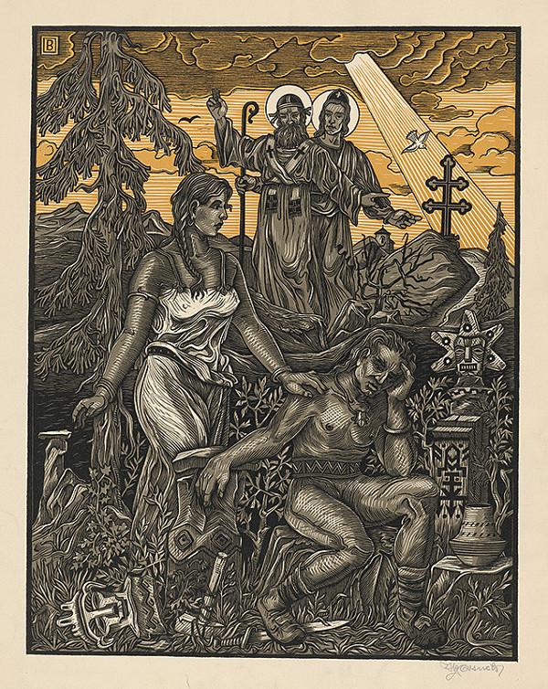 Slovenský maliar zo začiatku 20. storočia – Sv.Cyril a Metod