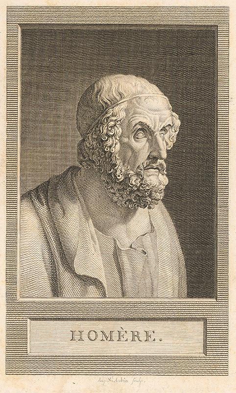 Augustin de Saint-Aubin – Homér