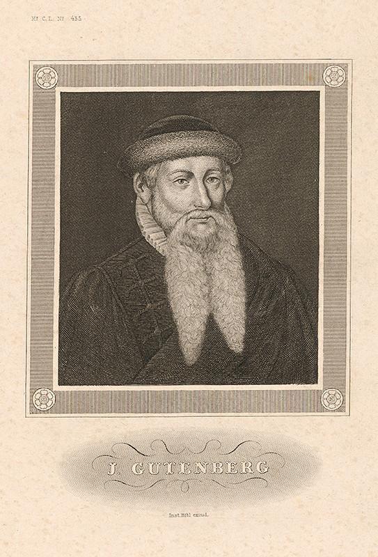Stredoeurópsky maliar z 19. storočia – J.Gutenberg
