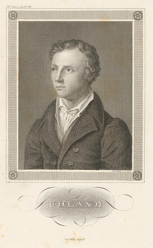 Johann Georg Serz – Portrét Uhlanda