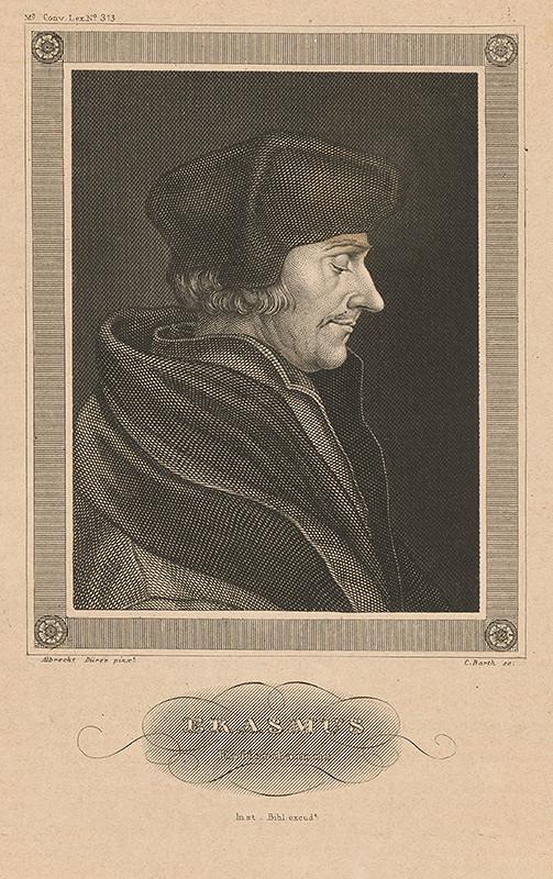 Carl Barth, Albrecht Dürer - Erasmus Rotterdamský
