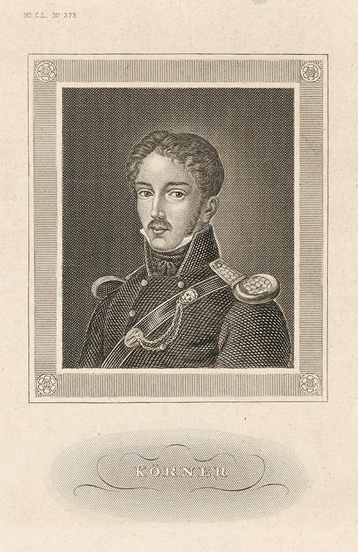 Stredoeurópsky maliar z 19. storočia - Portrét Körnera