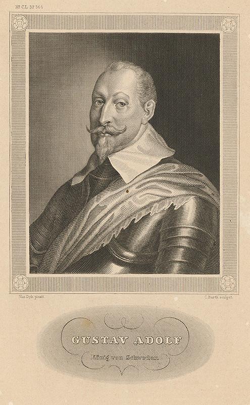 Carl Barth, Anthony van Dyck – Švédsky kráľ Gustáv Adolf