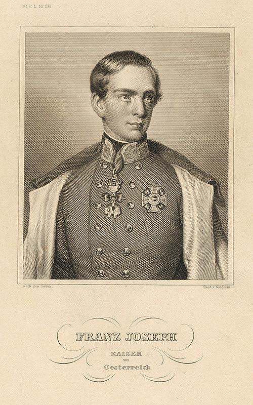 Johann Georg Nordheim – Portrét Františka Jozefa I.