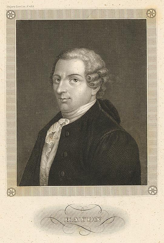 Stredoeurópsky maliar z 19. storočia – Portrét Haydna