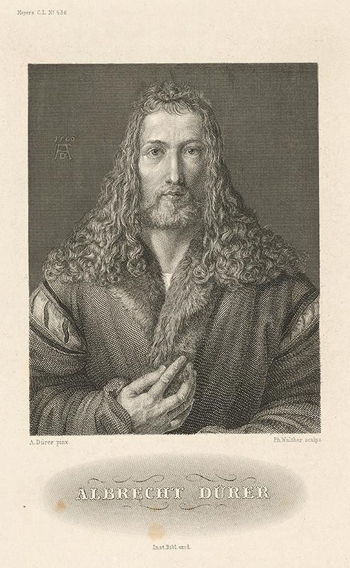 Albrecht Dürer, Phillip Johann Walter –  Albrecht Dürer, 1500, Galéria mesta Bratislavy