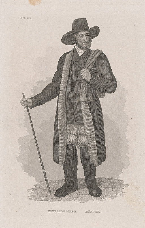 Stredoeurópsky maliar z 19. storočia - Kostromišský sedliak
