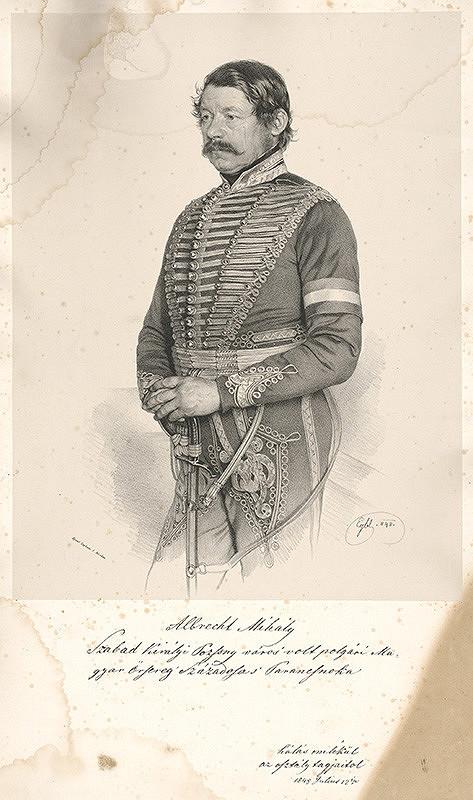 Franz Eybl - Portrét Michala Albrechta