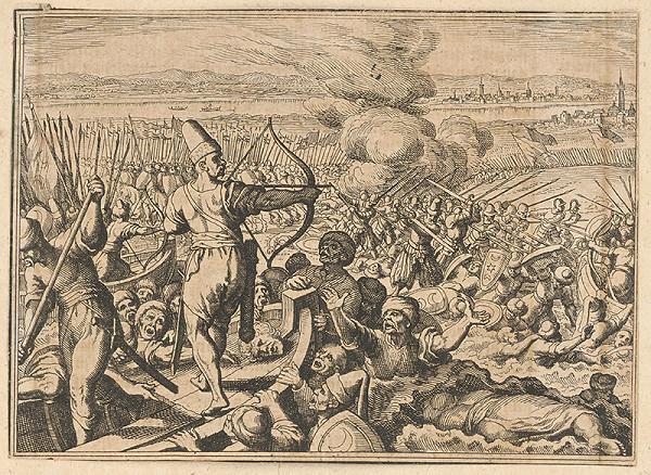 Stredoeurópsky maliar z prelomu 17. - 18. storočia - Turecká bitka