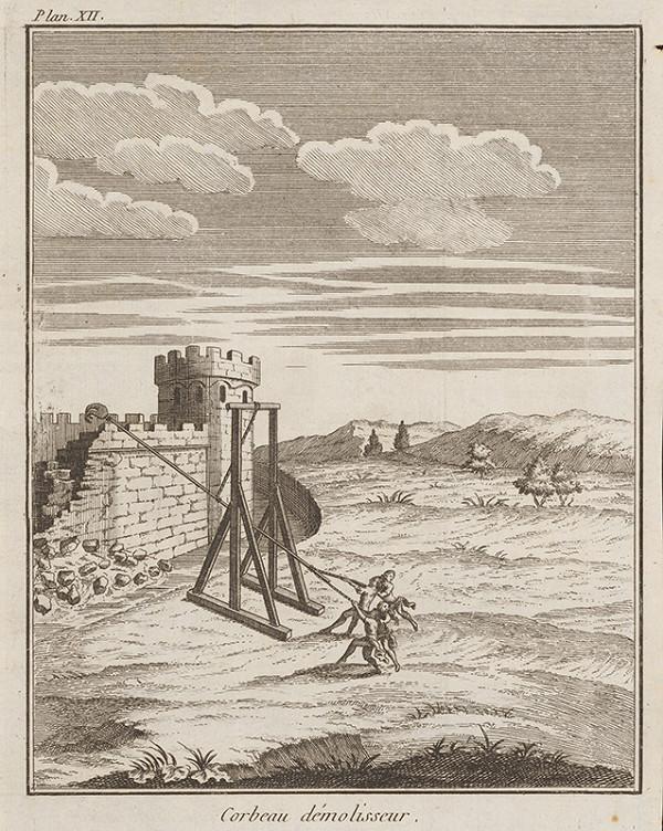 Stredoeurópsky maliar z 18. storočia - Búranie hradieb