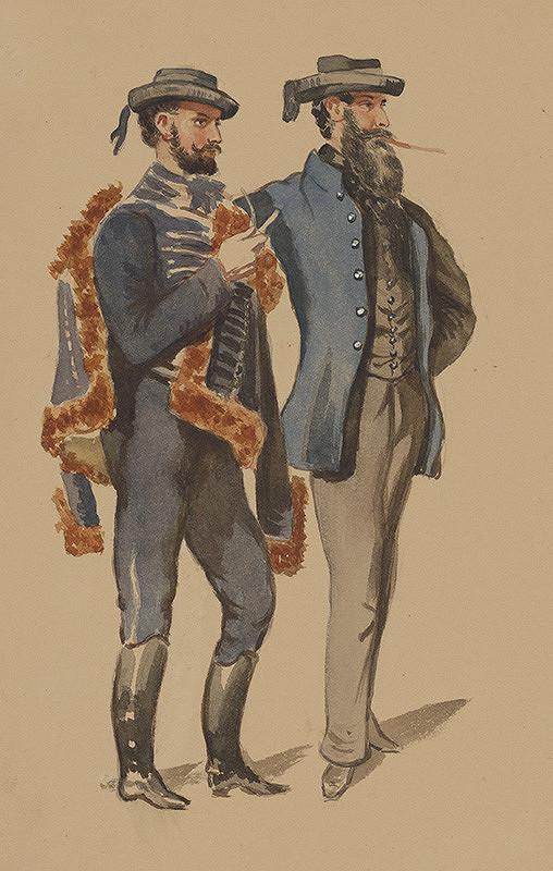 Károly Sterio – Štúdia mužských odevov