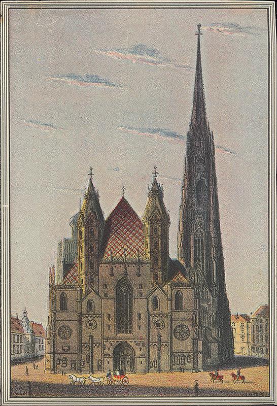Eduard Gurk – Dóm sv. Štefana vo Viedni