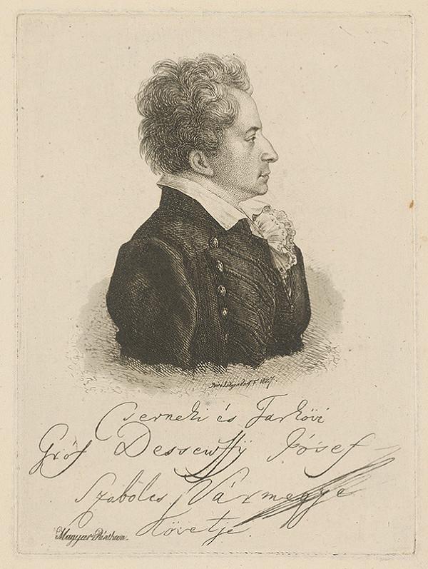 Ferdinand Karl Theodor Lütgendorff – Gróf Jozef Dessewffy