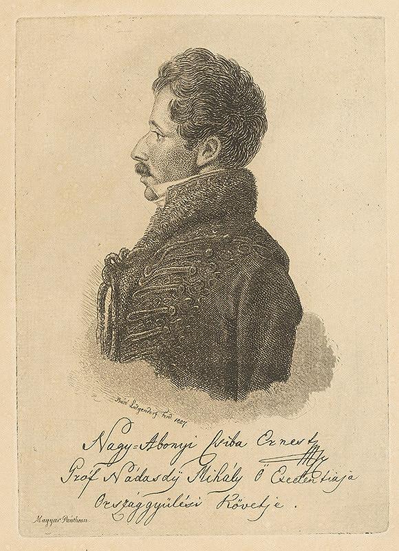 Ferdinand Karl Theodor Lütgendorff – Gróf Michal Nádasdy