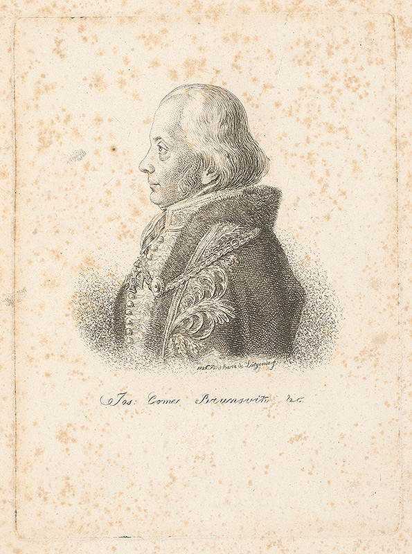 Ferdinand Karl Theodor Lütgendorff – Comes Jozef Brunsvik
