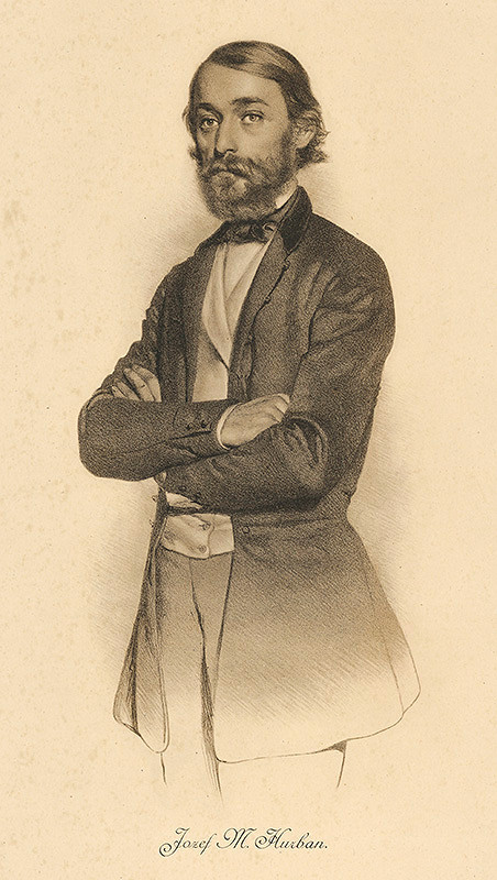 František Kolář – Portrét Jozefa Miloslava Hurbana