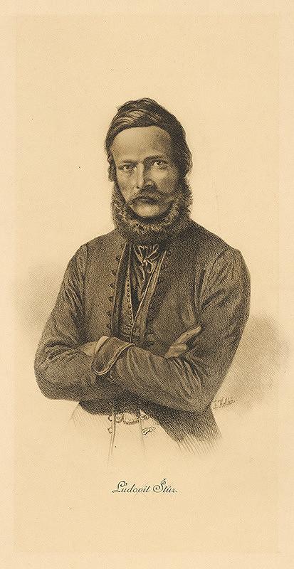 František Kolář – Portrét Ľudovíta Štúra
