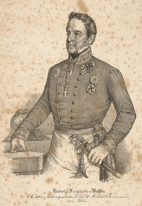 Miklós Barabás – Portrét Ľudovíta Freyherra